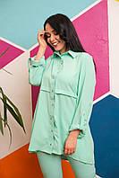 Блуза - рубашка женская батал, фото 1