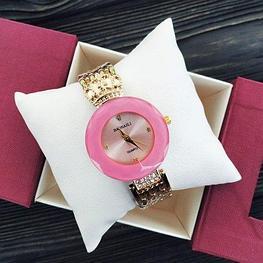 Женские часы Baosaili золото с розовым (баосали)  Жіночий годинник, копия Гарантия