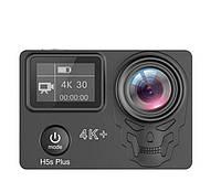Action камера Eken H5S Plus с сенсорным экраном и электронной стабилизацией изображения