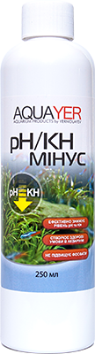AQUAYER pH/KH минус, 250 мл