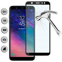Защитное стекло iPaky Xbillion 3D Full Glue для Samsung A6+ 2018, A605 Black