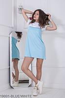 Яркое универсальное женское платье свободного кроя Nicki