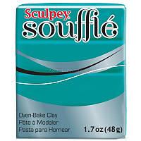 Полимерная глина Souffle Sculpey Морская волна 6505, 48г