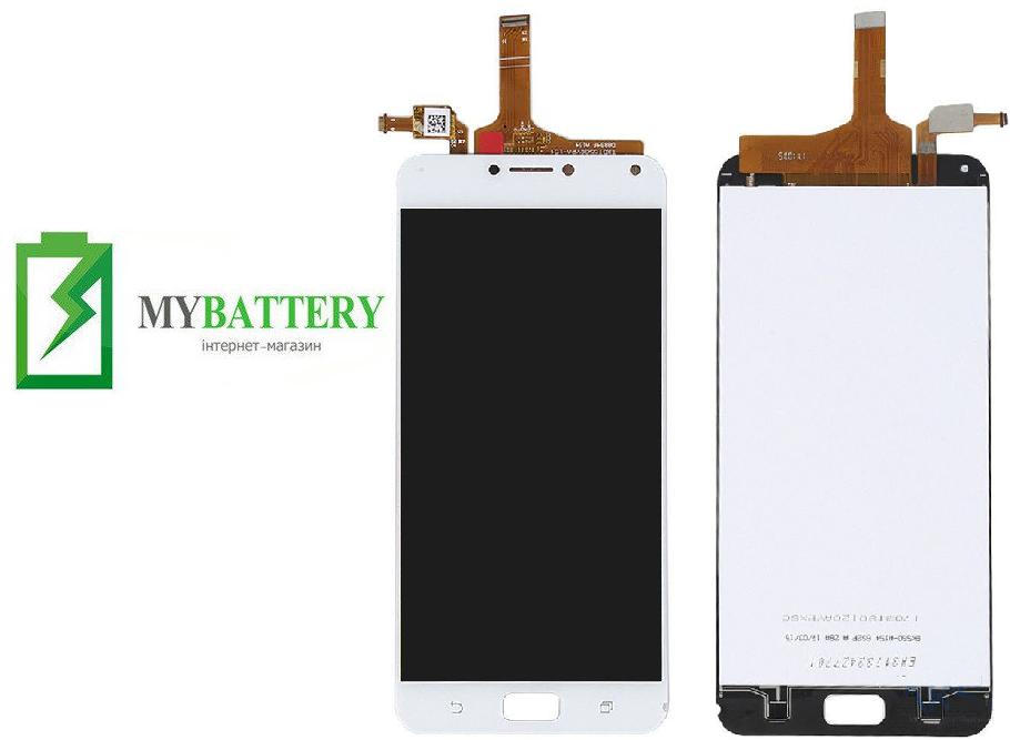 Дисплей (LCD) Asus ZenFone 4 MAX (ZC554KL)/ 4 Max Pro з сенсором білий