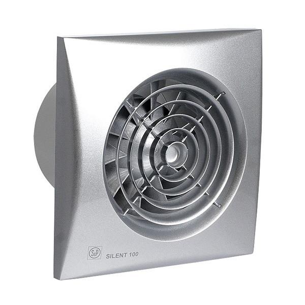 Вентилятор вытяжной Soler&Palau SILENT-100 CRIZ SILVER
