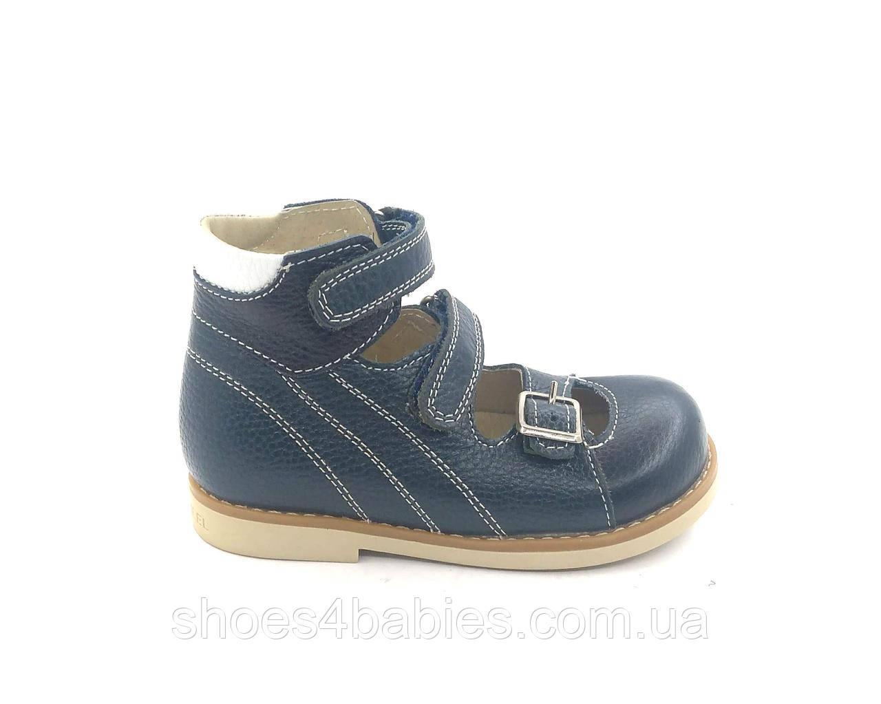 Туфли ортопедические для вальгуса Ecoby 108В р. 25 - 16,5см