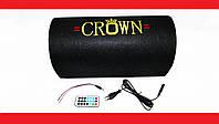 "6"" Активный сабвуфер бочка CROWN 200W + Bluetooth, фото 1"