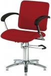 Парикмахерское кресло London A красное