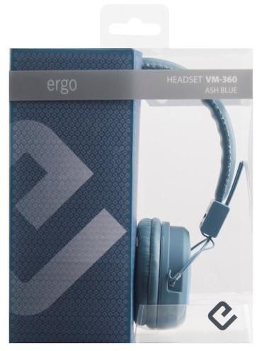 Наушники Ergo VM-360 Ash Blue, цена 352 грн., купить в Одессе — Prom ... 3cb64911631