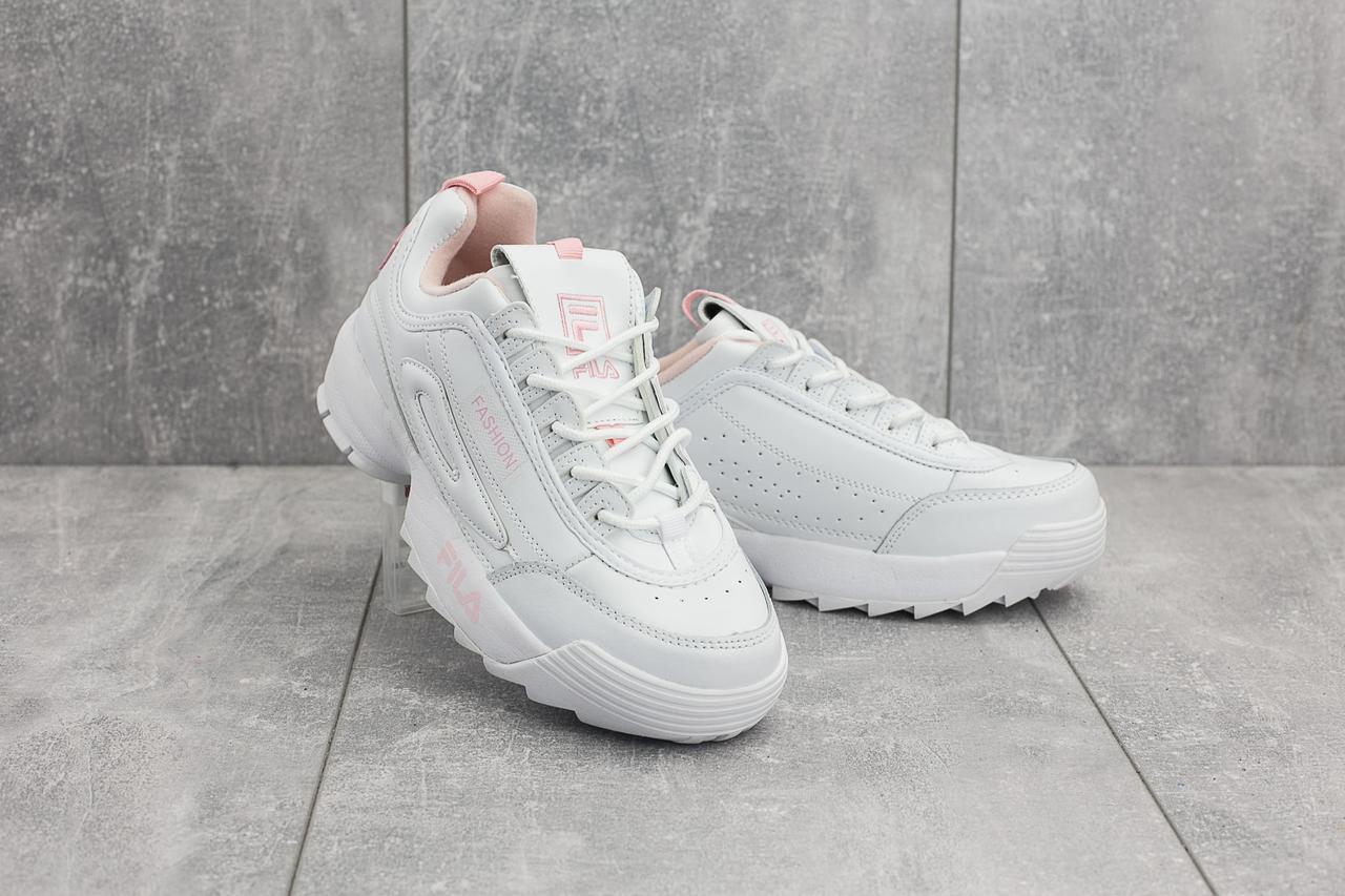787d01cbb Женские кожаные кроссовки G 3057-3 (Fila Disruptor II Premium Sneaker)