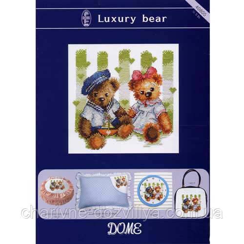 Набор для вышивания крестиком Роскошные медвежата