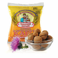 Каша №70 пшеничная с расторопшей, льном и грецким орехом