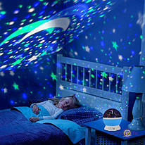 Детский ночник Star Master в форме шара. Проектор звездного неба