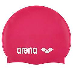 Шапочка для плавання Arena Classic Silicone Pink