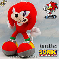 "Плюшевая игрушка Наклз из серии Sonic - ""Knuckles"" - 18 см, фото 1"