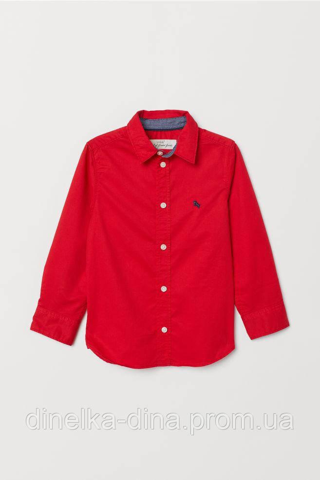 Котонова сорочка на хлопчика 1, 5-2, 4-5 років