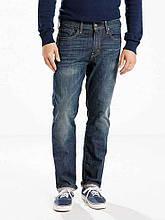 Мужские джинсы Levi's 502 Taper Fit Stretch Rosefinch Темно синие (295070004)