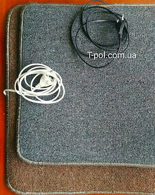 Нагревательный коврик для ног и сушки обуви 50см*42см, фото 2