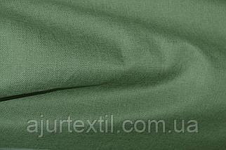 Штора лен зелень, фото 3