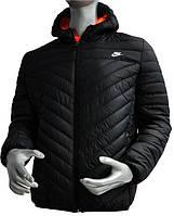 Мужская осенняя стеганная ветровка Nike, утепленная, мужские ветровки магазин