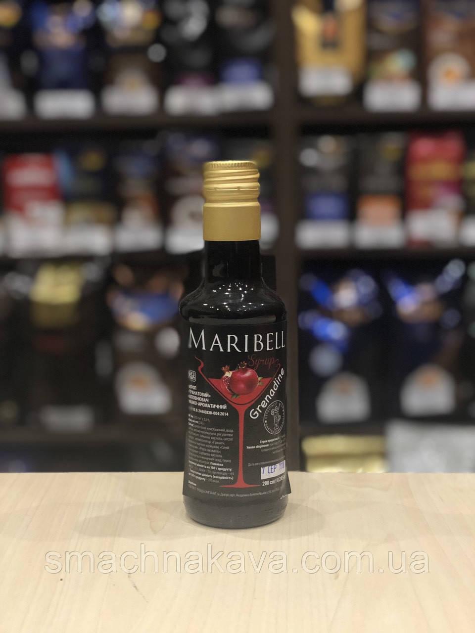 Сироп Гренадин ТМ Maribell 200 мл