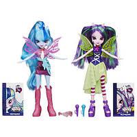 Куклы My Little Pony Соната Даск и Ария Блейз Радужный рок Hasbro