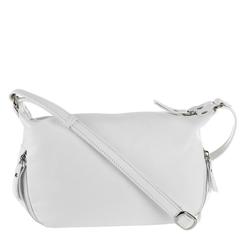 470eba0c8beb Кожаная сумка на плечо женская белая Viva 1713018 - Мистер Воллет на Prom.ua  в