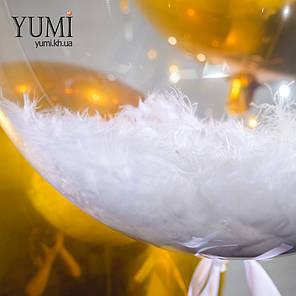 Фонтан из 5 воздушных шаров с гелием на подарок, фото 2