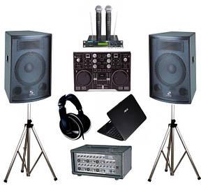 Акційне звукове обладнання