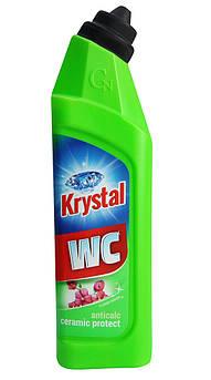 KRYSTAL Миючий засіб для туалету для кераміки з захистом/зелений 750 мл
