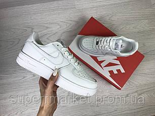 Кроссовки в стиле Air Force белые. Код 7309, фото 3