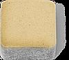 Тротуарна плитка Бруківка (цеглинка) 4см цукру