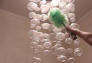 Электрическая щетка-метелка для пыли Гоу Дастер Вращающаяся щетка метелка для удаления пыли Антипыль Go Duster, фото 2