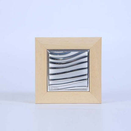 13Q/1A шкатулка ntparnasse 8,5x8,5 см -Pierre Cardin-, цвет-клен, фото 2