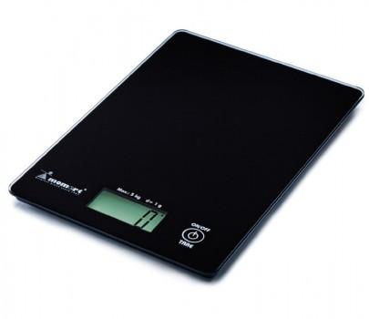 Весы электронные кухонные ультратонкие Момерт (Momert 6841), черные, до 5 кг, Венгрия