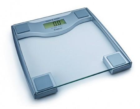 Весы напольные электронные на стеклянной платформе Момерт (Momert  5831), квадрат, до 200 кг, Венгрия