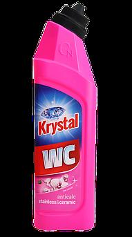 KRYSTAL WC Миючий засіб для нержавіючої сталі і кераміки/рожеве 750 мл