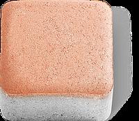 Тротуарная плитка Брусчатка (кирпичик) 4см янтарь