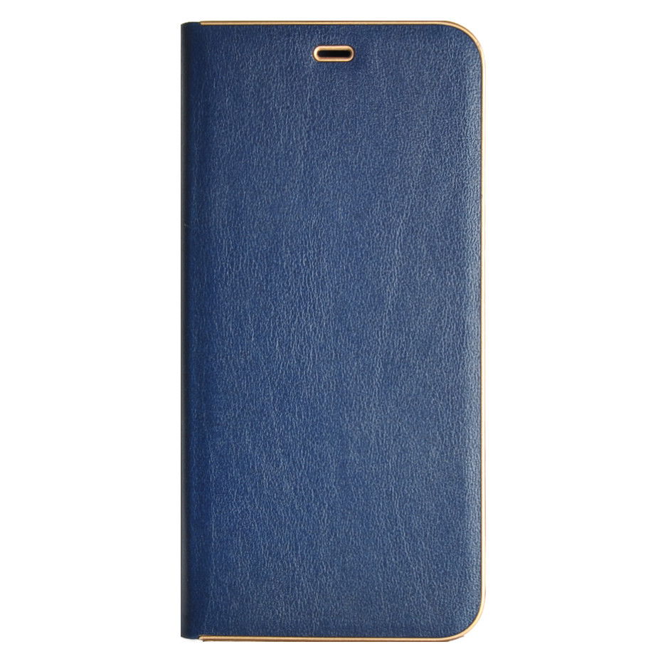 Кожаный чехол-книжка для смартфона Huawei Y6 Prime 2018 (ATU-L31) синяя Florence TOP №2