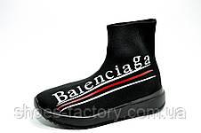 Кроссовки женские в стиле Balenciaga, Black (Баленсиага), фото 2
