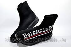 Кроссовки женские в стиле Balenciaga, Black (Баленсиага), фото 3