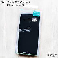 Оригинальный силиконовый soft-touch чехол Goospery для Sony Xperia XZ2 Compact (h8324, h8314)