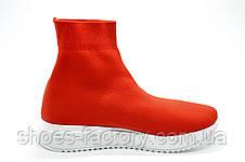 Высокие женские кроссовки в стиле Balenciaga, Red\Красные (Баленсиага), фото 3