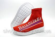 Высокие женские кроссовки в стиле Balenciaga, Red\Красные (Баленсиага), фото 2