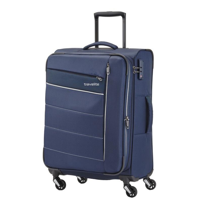 4d459d9150d5 Чемодан Travelite Kite TL089948-20 Текстильный Размер M Синий — в ...