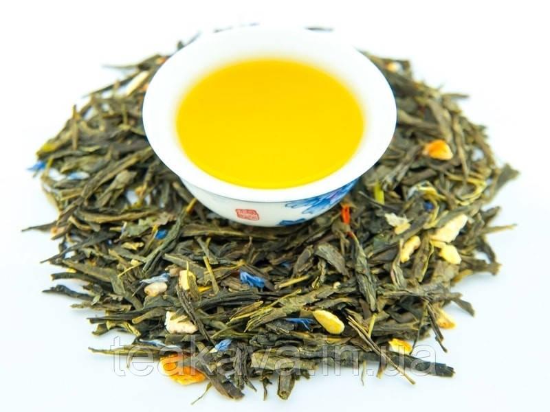 Леди Грей (зеленый ароматизированный чай), 50 грамм