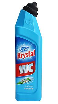 KRYSTAL WC Миючий засіб для кераміки/синій 750 мл