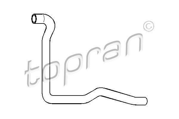 Патрубок резин. Audi 100/A6 2.0E на основ. радиатор