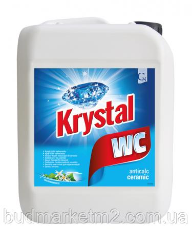 KRYSTAL WC Моющее средство для керамики/cиний 5 л