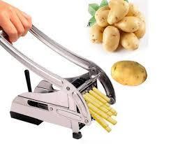 Машинка ручная металлическая для нарезки картофеля фри Potato Chipper . - фото 2